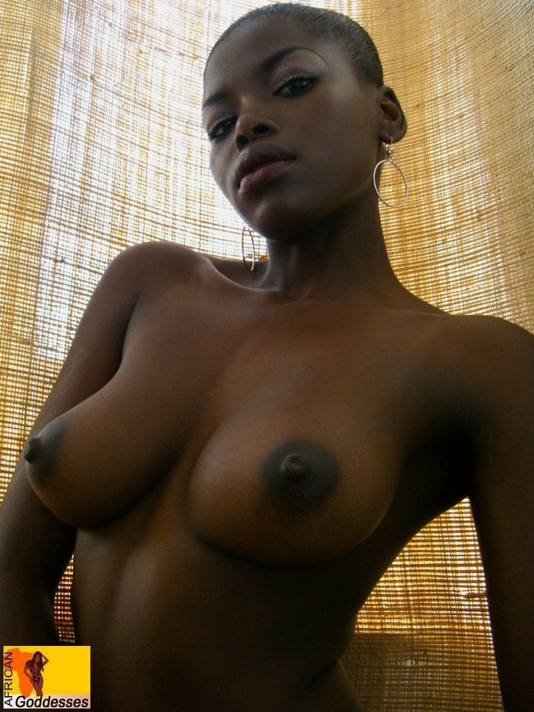 Black busty woman