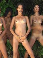 Living in one tribe and making ebony anal tricks altogether